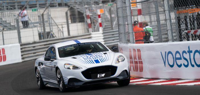 Aston Martin Rapide E first look at Monaco
