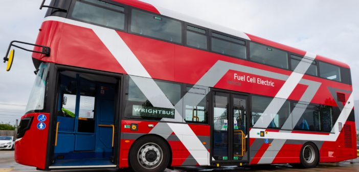 World's first hydrogen double decker buses set for London