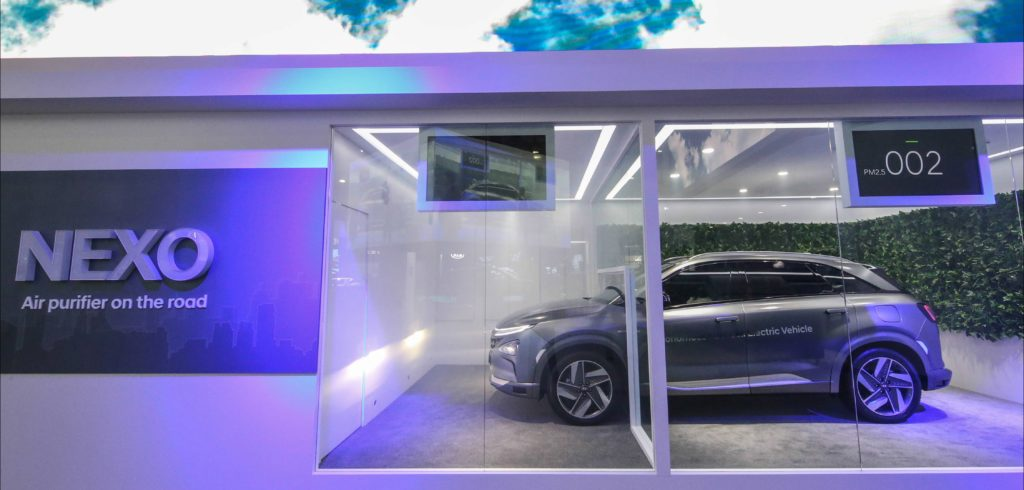 Hyundai hydrogen fuel cell vehicle