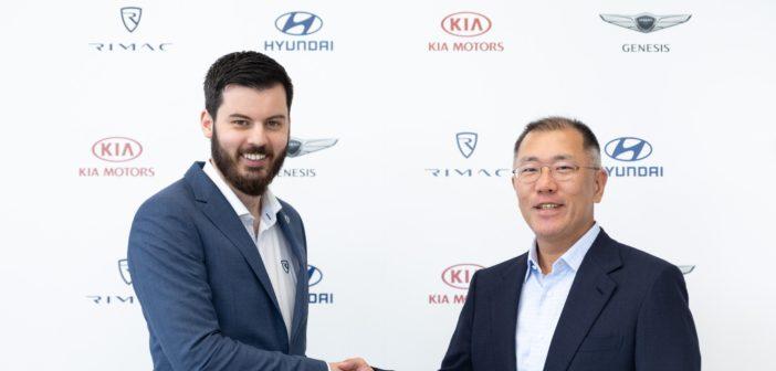 Hyundai and Kia to create high-performance electric car with Rimac