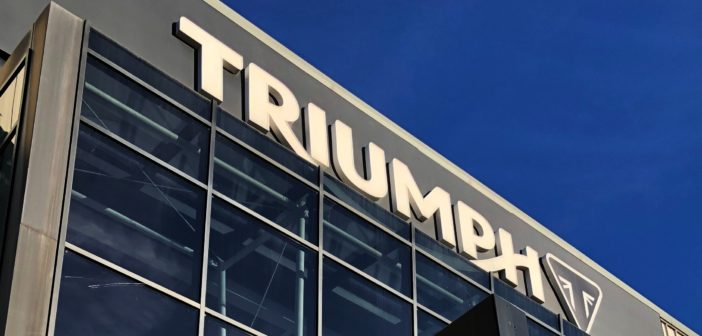 Triumph reveals plans to create electric motorcycles