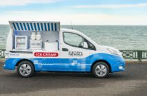 Nissan electric ice cream van