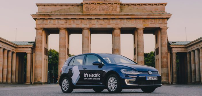 VW launches world's largest electric car sharing network