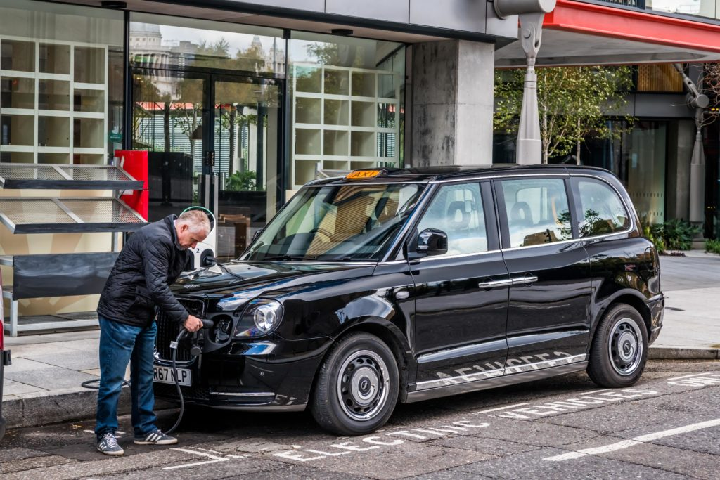 LEVC electric taxi