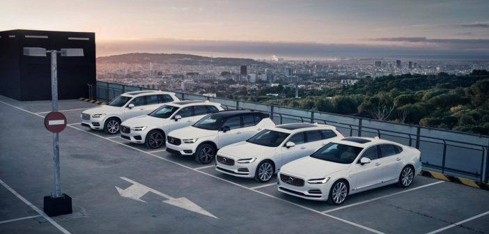 Volvo becomes first car manufacturer to hybridize its entire model range