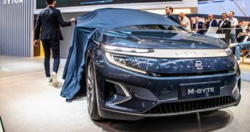 Byton M-Byte: Premium electric SUV unveiled at IAA 2019
