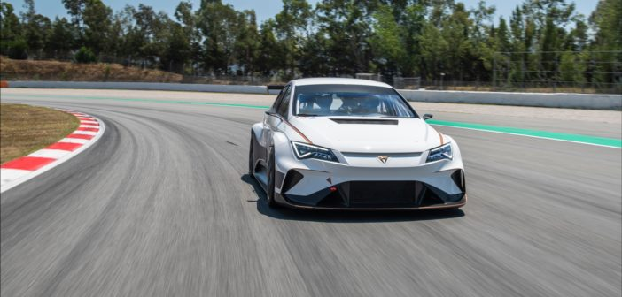 World's first fully-electric touring car hits test track