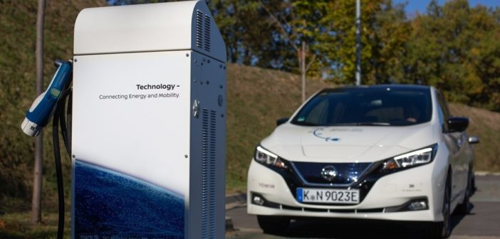 Nissan leads charge to help make Europe carbon-neutral by 2050