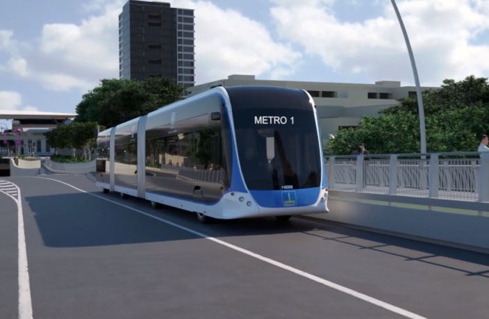 Brisbane electric Metro