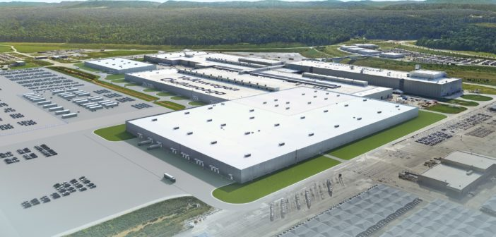 Volkswagen breaks ground on new US electric vehicle production facility