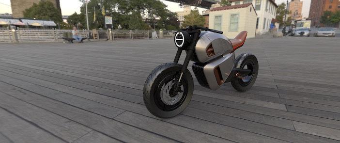 NAWA Technologies unveils hybrid battery-powered electricmotorbike concept