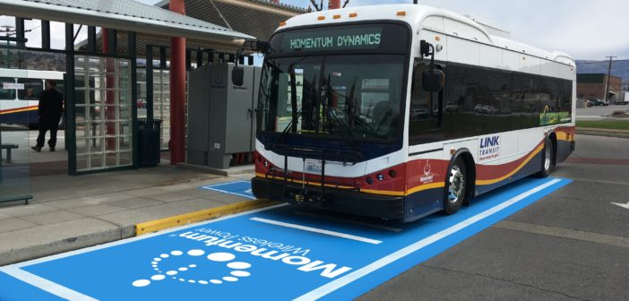 Wireless charging for electric buses accelerates in US