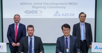 GKN and Delta Electronics collaborate on next-generation eDrive technology