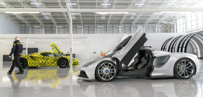 Watch Lotus Evija final prototypes being assembled for testing
