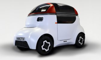 MOTIVE autonomous vehicle