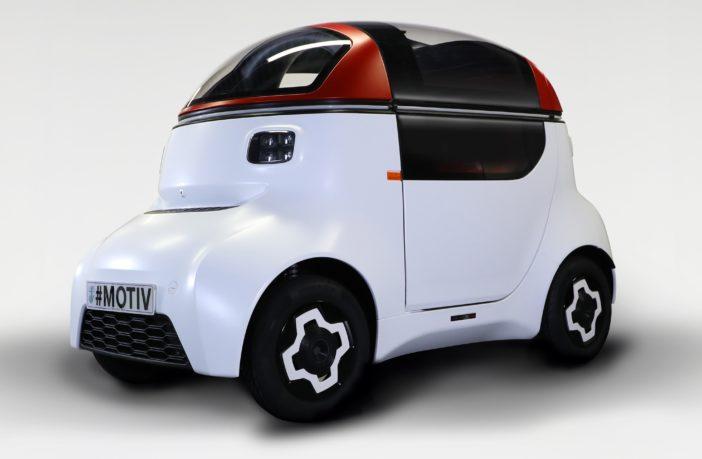 MOTIVE autonomous vehicle