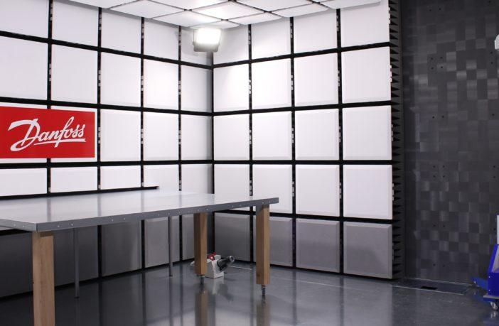 Danfoss Editron testing laboratory