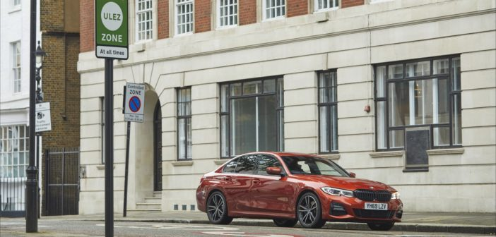 BMW launches world-first technology to automatically switch cars to electric power in low-emission zones