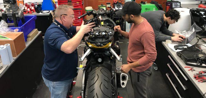 Warwick University's electric superbike build racing ahead