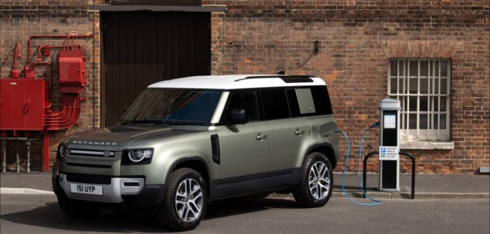 New Land Rover Defender plug-in hybrid announced