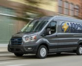 Ford unveils all-electric Transit van