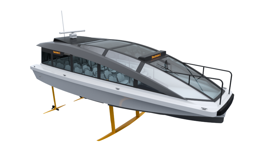 Candela P-30 electric boat