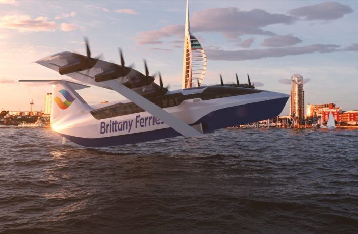 Seaglider Electric 'flying ferry' concept unveiled