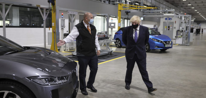 £130m state-of-the-art battery facility to provide major boost to UK's EV future