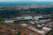 West Midlands Gigafactory Aerial